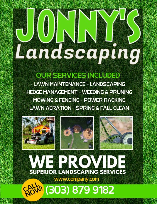 Lawn Care Flyers Template Lawn Service Flyer Template