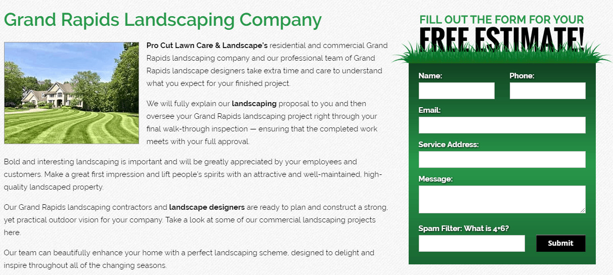 Lawn Care Website Template 9 Best Lawn Care Website Designs for 2018