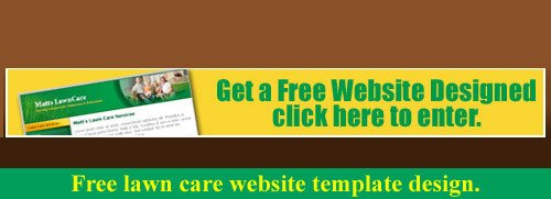Lawn Care Website Template Free Lawn Care Business Website Template Design