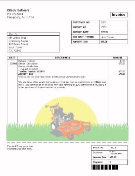 Lawn Service Proposal Template Free Lawn Care Invoice Design Templates Gopherhaul