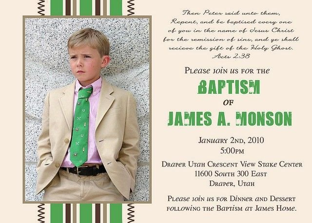 Lds Baptism Announcement Template Free Lds Baptism Invitation Templates Free 2 Lds