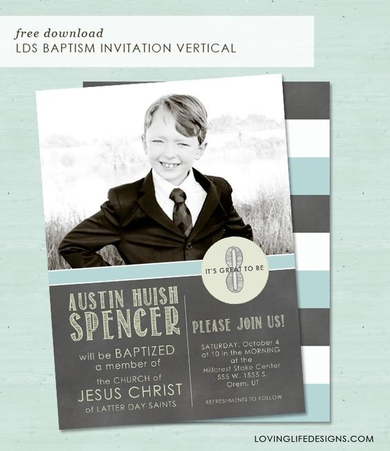Lds Baptism Invitation Template Popular Lds and Graphics On Pinterest