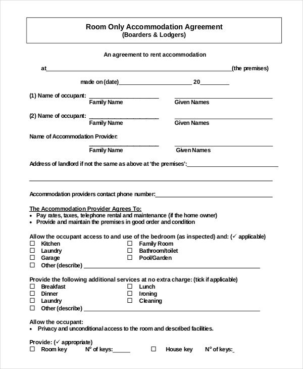Lease Agreement Template Pdf 26 Simple Rental Agreement Templates Free Word Pdf