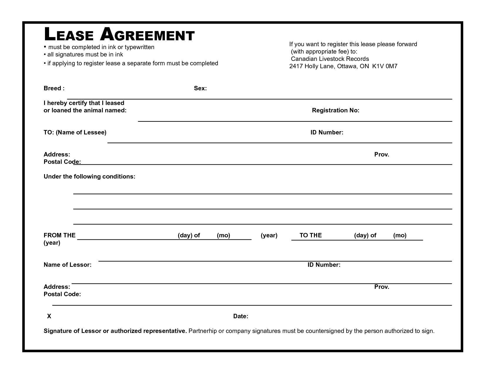 Lease Agreement Template Pdf 39 Excellent Rental Lease and Agreement Template Examples