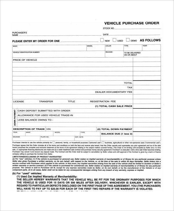 Lease Purchase Agreement form 9 Sample Mercial Truck Lease Agreements Pdf Word Pages