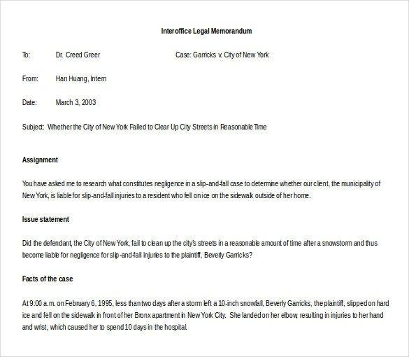 Legal Memorandum Template Word 10 Memo Templates Microsoft Word 2010 Free Download