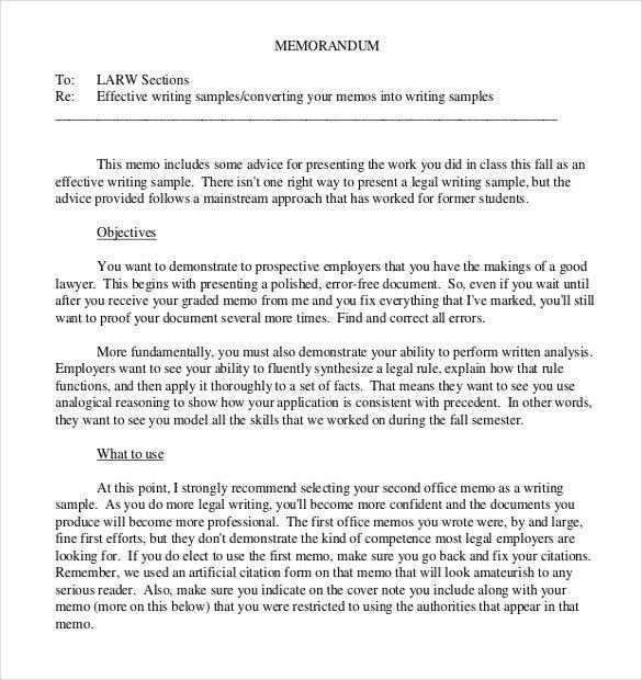 Legal Memorandum Template Word 13 Legal Memo Templates – Sample Word Google Docs format