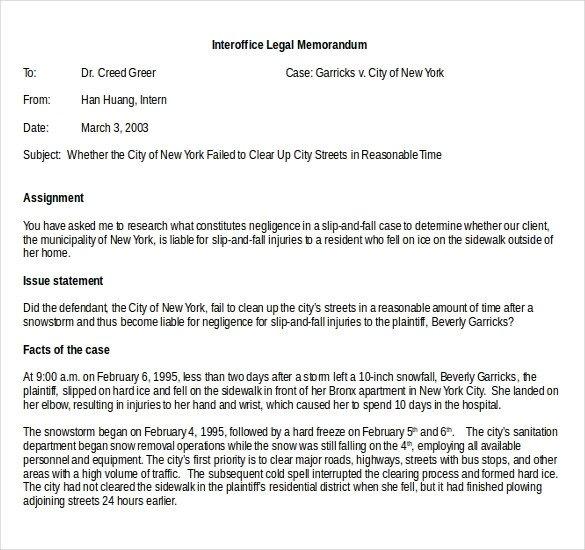 Legal Memorandum Template Word 23 Interoffice Memo Templates Word Google Docs Apple