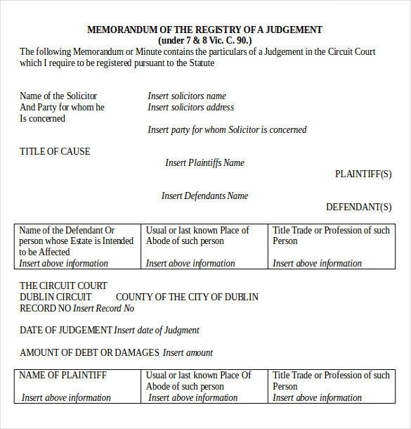 Legal Memorandum Template Word Legal Memo Template 13 Word Excel Pdf Documents
