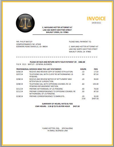 Legal Templates for Word Legal attorney Invoice Template Word Templates