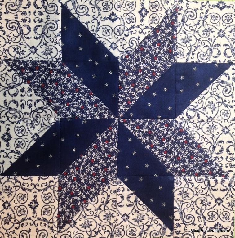 Lemoyne Star Template Easy Lemoyne Star by Missprissquilts