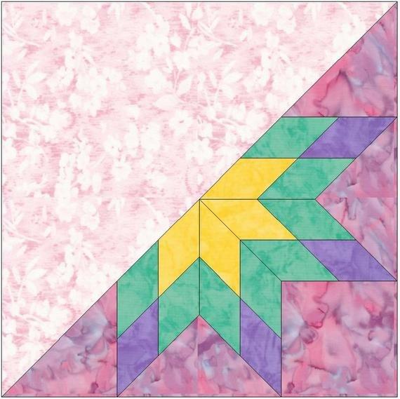 Lemoyne Star Template Half Lemoyne Star 2 Paper Piece Templates Quilting Block