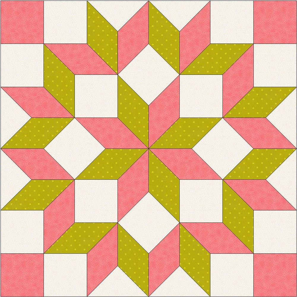 Lemoyne Star Template How to Draft A Lemoyne Star