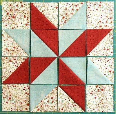 Lemoyne Star Template How to Make A Lemoyne Star Block