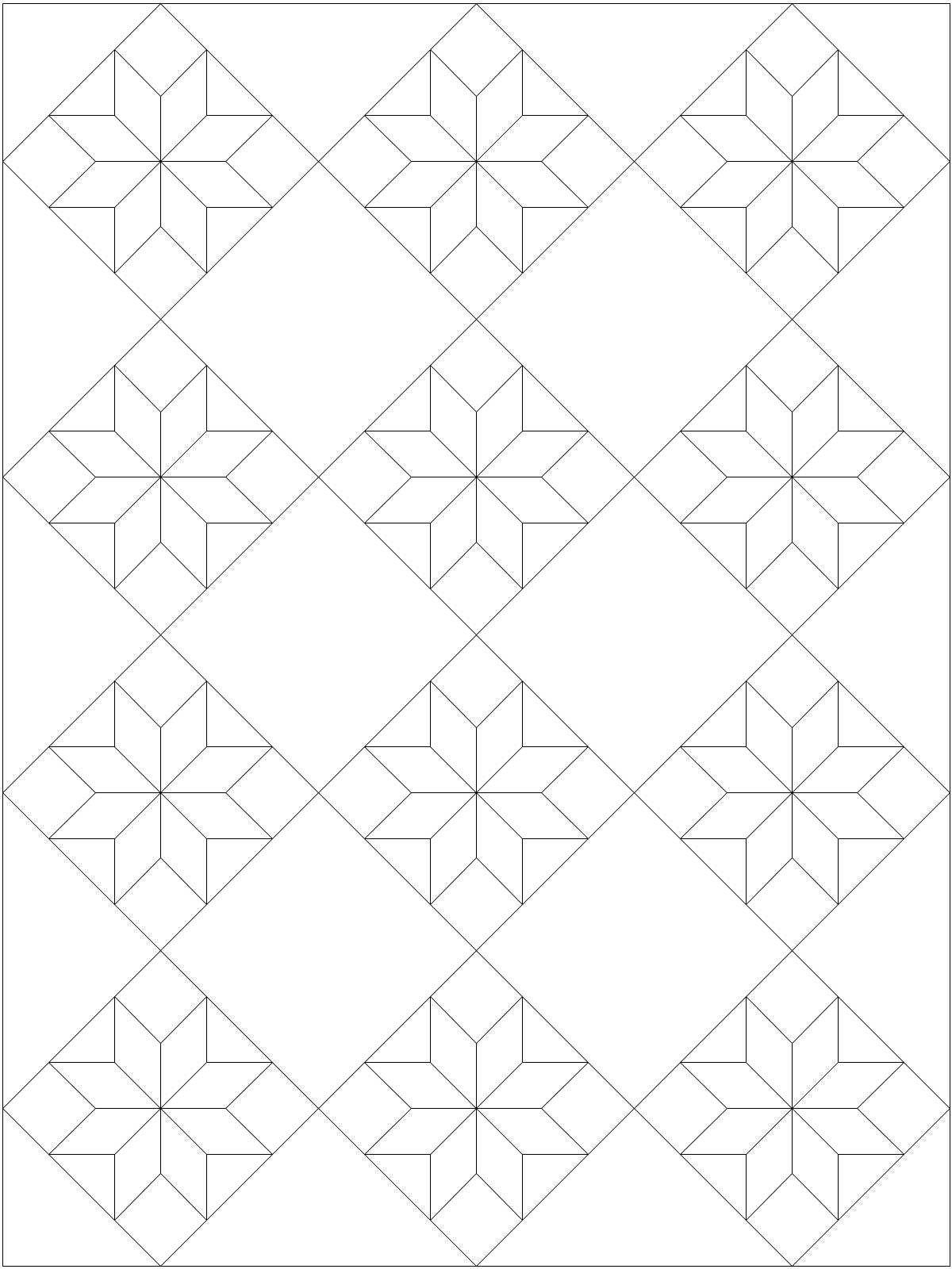 Lemoyne Star Template Lemoyne Star Quilt Pattern