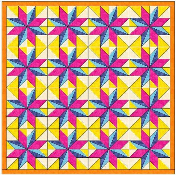 Lemoyne Star Template Lemoyne Star Variation Paper Piece Templates Quilting
