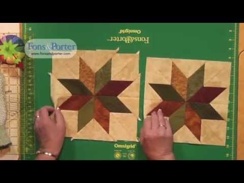 Lemoyne Star Template Sew Easy Lesson How to Make A Rapid Fire Lemoyne Star