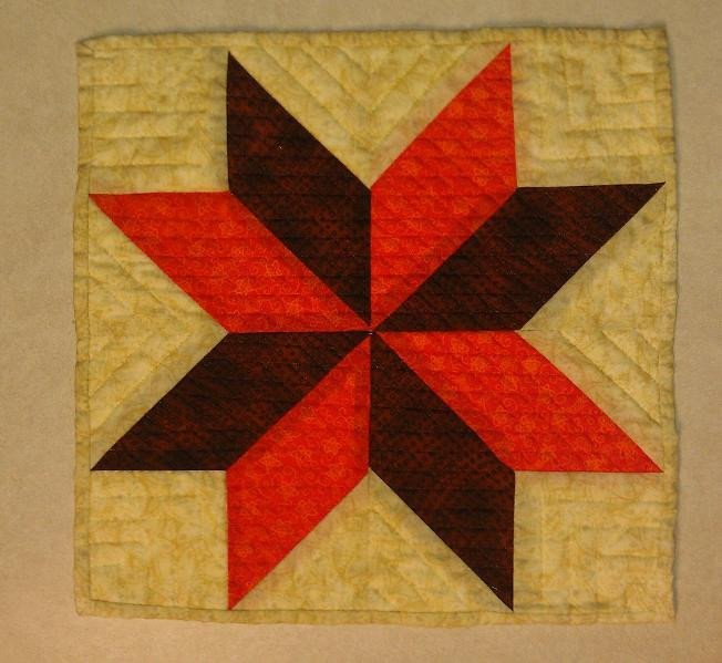 Lemoyne Star Template You Have to See Lemoyne Star Quilted Trivet On Craftsy
