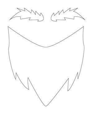 Leprechaun Beard Template How to Simple Infant Gnome Costume