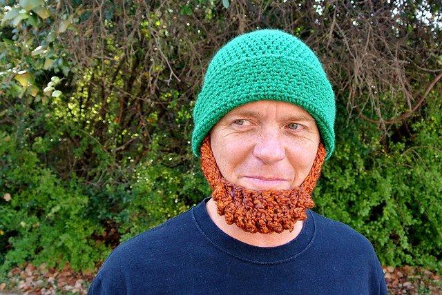 Leprechaun Hat and Beard Template Adults Crochet Leprechaun Beard Really Awesome Costumes