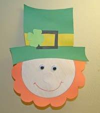 Leprechaun Hat and Beard Template Mishmash St Patrick S Day 17 De Marzo