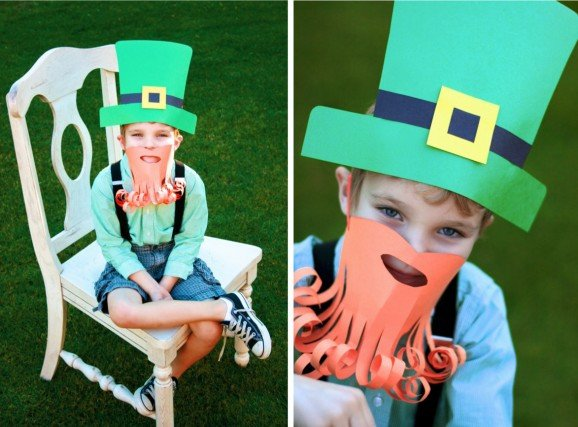 Leprechaun Hat and Beard Template St Patrick S Day Activities and Ideas Saving Cent by Cent