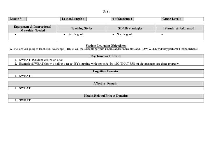 Lesson Plan Template Doc Lesson Plan Template 2c Markups