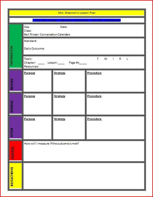 Lesson Plan Templates Free 10 Lesson Plan Template Word Free Download Pdf Excel