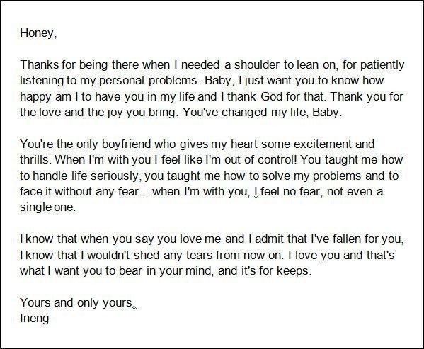 Letter for Your Boyfriend Best 25 Boyfriend Love Letters Ideas On Pinterest