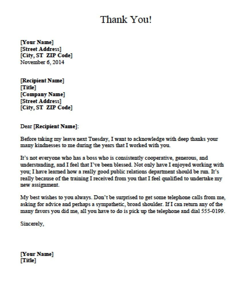 Letter Of Appreciation Templates 5 Appreciation Letter Templates formats Examples In