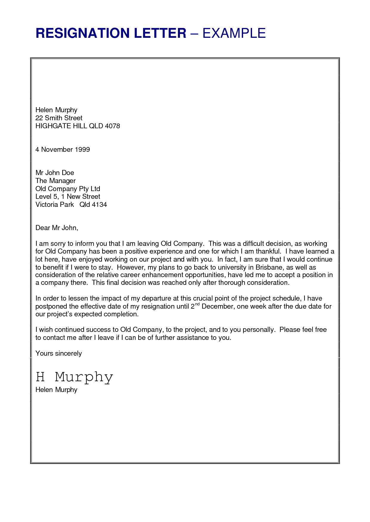 Letter Of Resignation Template Word Job Resignation Letter Sample Loganun Blog