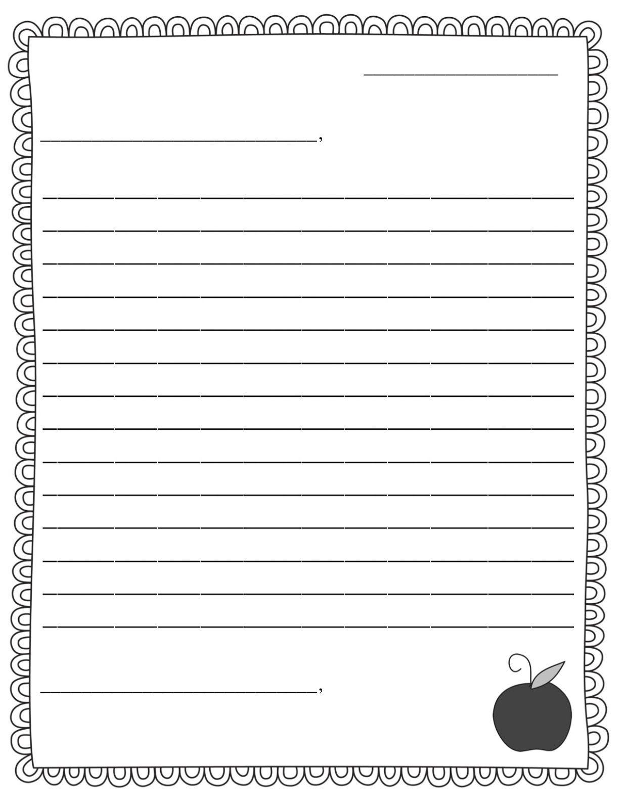 Letter Template for Kids Letter Template 3abspkjv Letters
