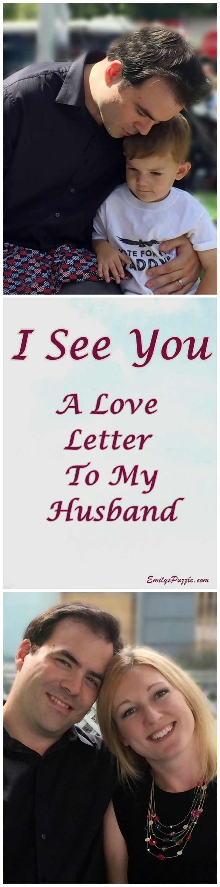 Letter to My Husband I See You A Love Letter to My Husband