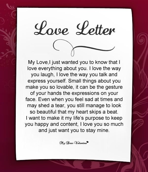 Letter to My Husband Love Letters for Her 18