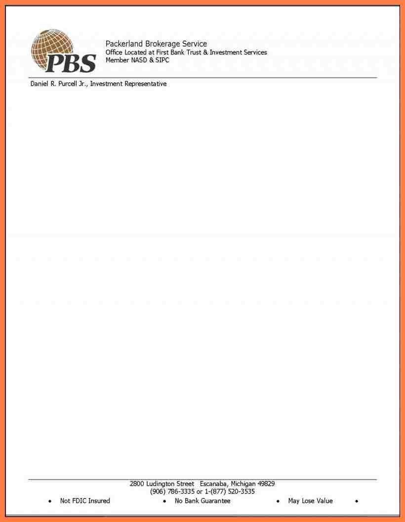 Letterhead Designs Free Templates 10 Printable Letterhead Templates