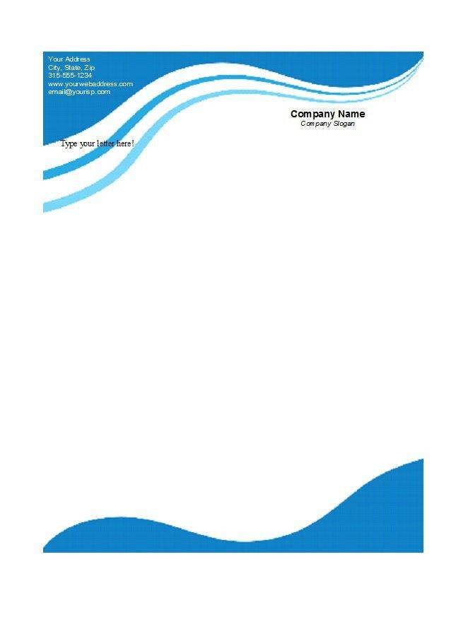 Letterhead Designs Free Templates 46 Free Letterhead Templates & Examples Free Template