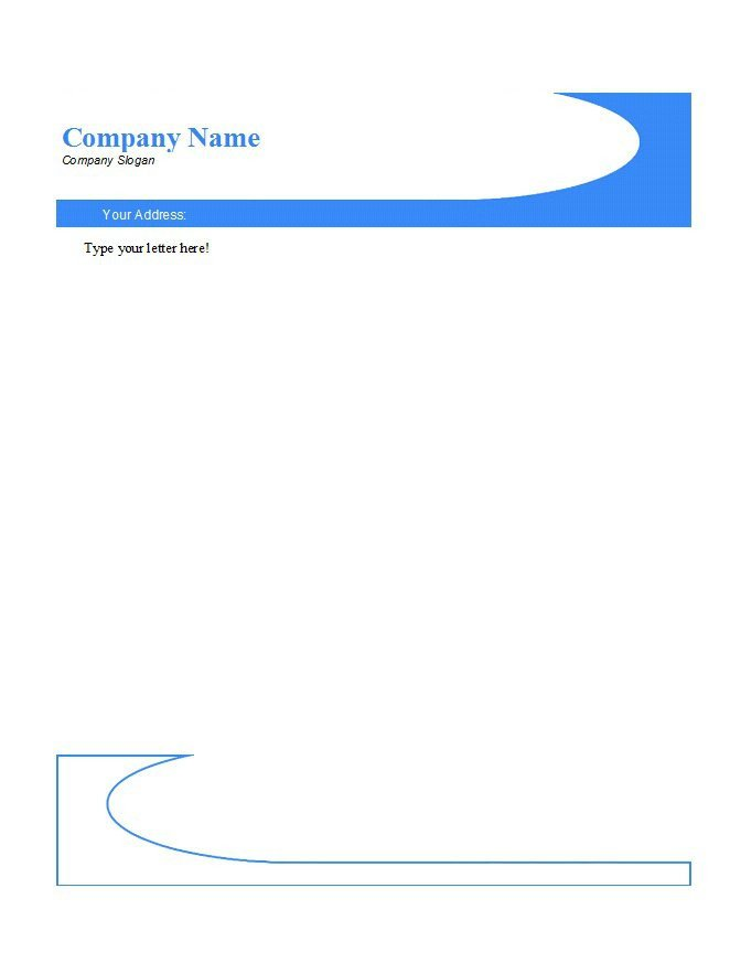 Letterhead Designs Free Templates 46 Free Letterhead Templates & Examples Free Template