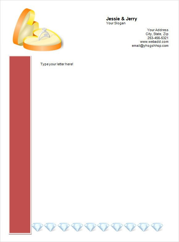 Letterhead Designs Free Templates Sample Personal Letterhead Template 9 Premium and Free