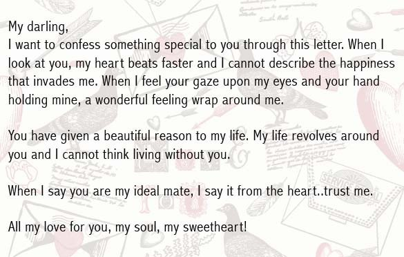Letters for Your Boyfriend Love Letters for Boyfriend Romantic Love Letter for Him