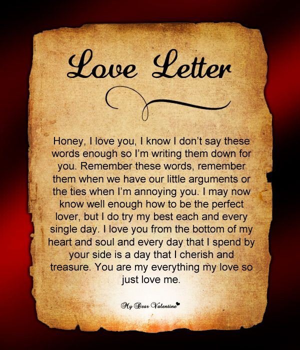 Letters for Your Boyfriend Send This Letter to Your Boyfriend