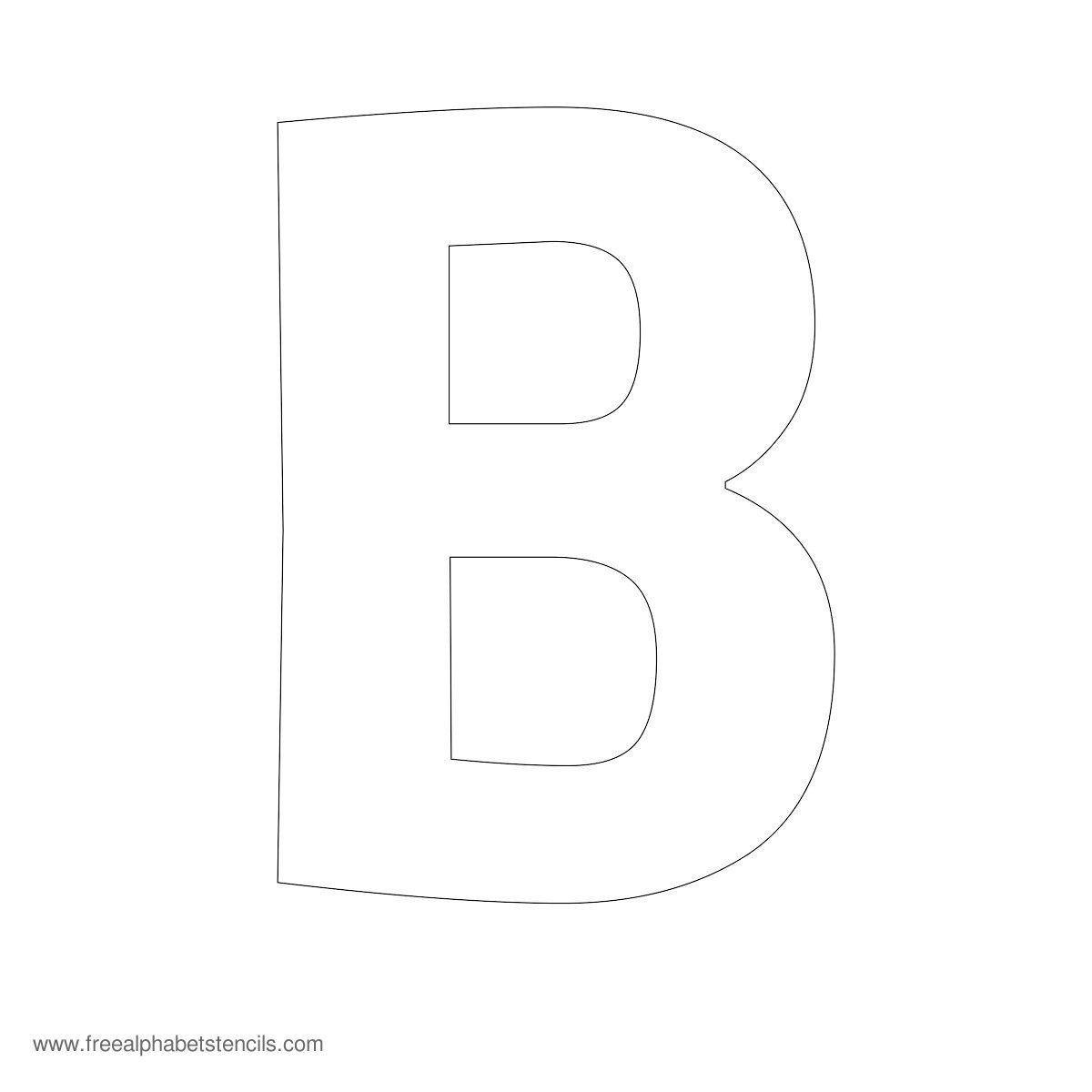 Letters Stencils to Print Alphabet Stencil B Mrs Claus and Santa
