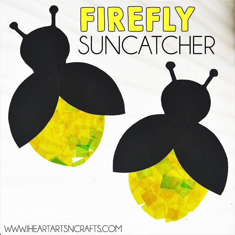 Lightning Bug Template 50 Bug Crafts for Kids Cool Kiddy Stuff