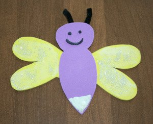 Lightning Bug Template Firefly Craft that Glows