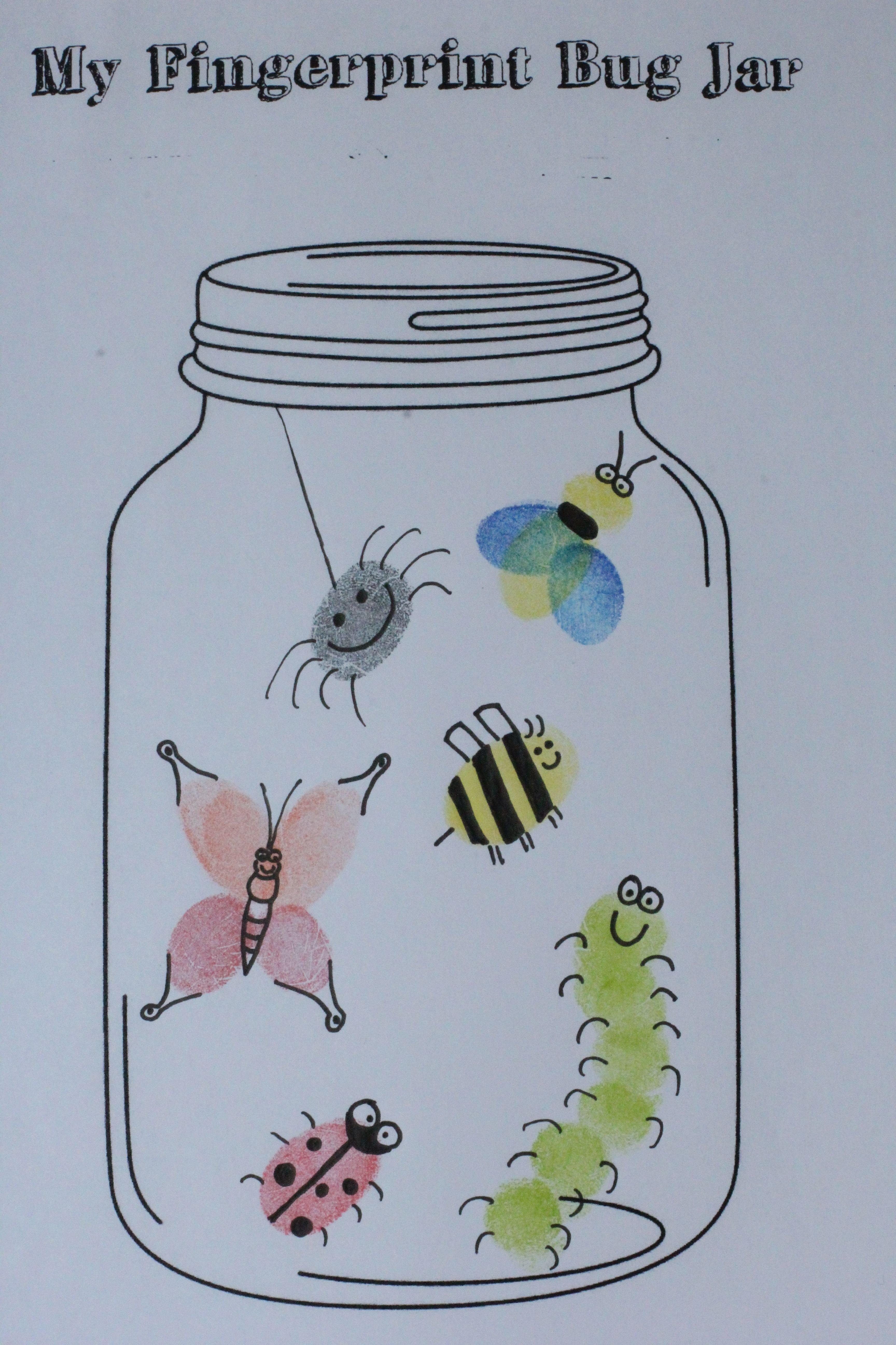 Lightning Bug Template Found This Free Mason Jar Printable