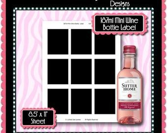 Liquor Bottle Labels Template Blank Liquor Bottle Label Template Printable 4 Files 24
