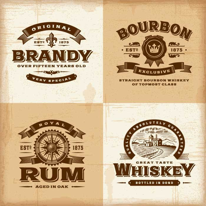 Liquor Bottle Labels Template Custom Liquor Labels with A Variety Of Choices Instabox
