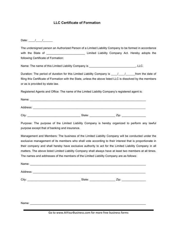 Llc Member Certificate Template 15 Membership Certificate Template Free Download