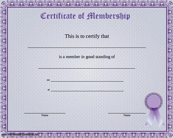 Llc Member Certificate Template 23 Membership Certificate Templates Word Psd In