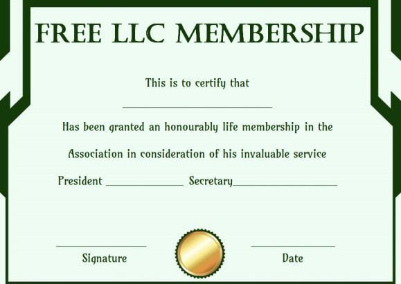 Llc Member Certificate Template Best 25 Free Certificate Templates Ideas On Pinterest
