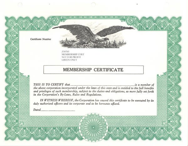 Llc Member Certificate Template Standard Stock Certificates Samples